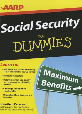 Social Security for Dummies By Peterson, Jonathan